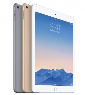 iPad Air 2 sneller