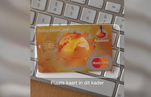 Creditcards inscannen met de iPhone-camera doe je zo
