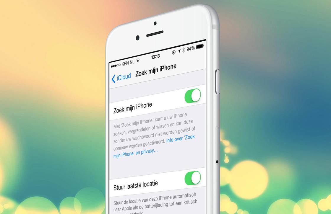 iOS 8 tip: stuur je laatst bekende locatie als je iPhone bijna leeg is