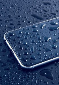 iphone waterschade