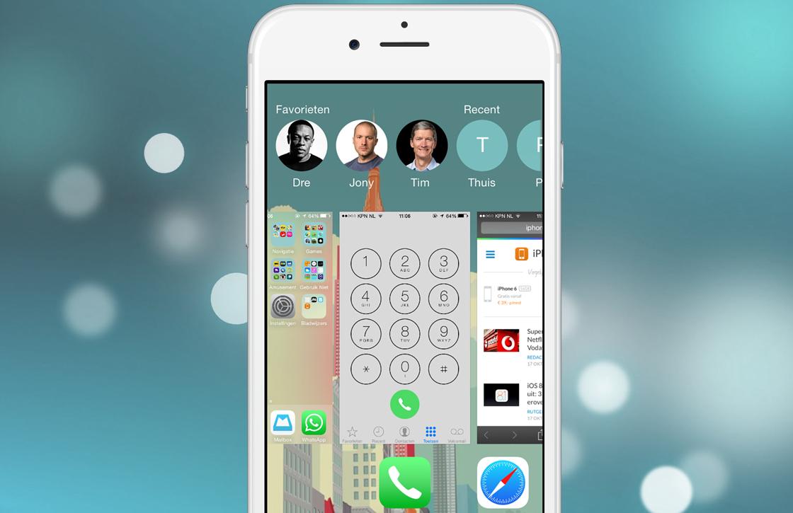 iOS 8 tip: recente contacten instellen, bellen en uitschakelen