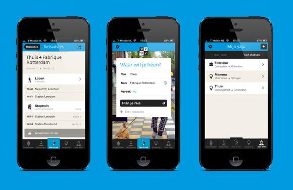 Handig: 9292-app toont nu actuele reisinfo en vertragingen