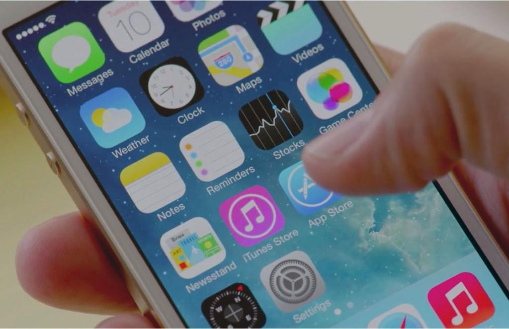 App Store knop