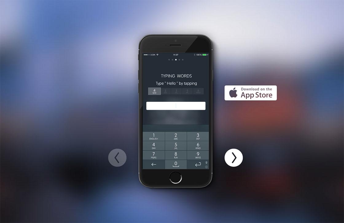 Typ weer zoals vroeger met toetsenbord-app Type Nine