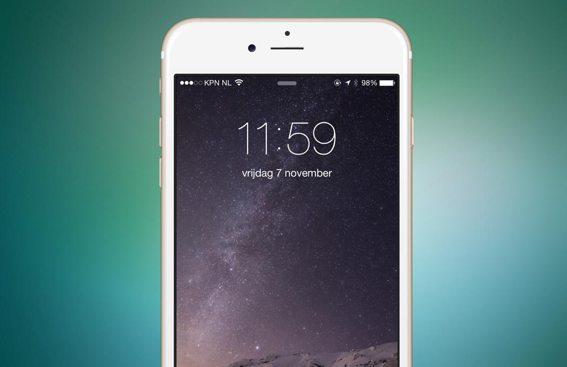 iOS 8 tip: Berichtencentrum uitschakelen op het toegangsscherm