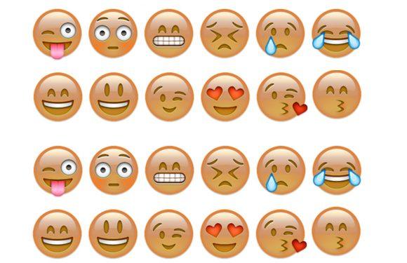 Emoji-update zorgt voor diversiteit in huidskleur