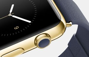 gouden apple watch