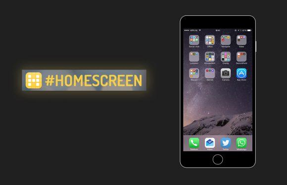 Homescreen: deel je startscherm en ontdek nieuwe apps