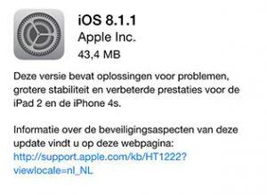 iOS 8.1.1 iOS-updates