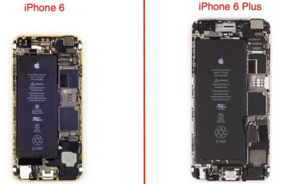 Zo zien de iPhone 6 en iPhone 6 Plus er van binnen uit