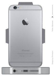 iphone surprise achterkant