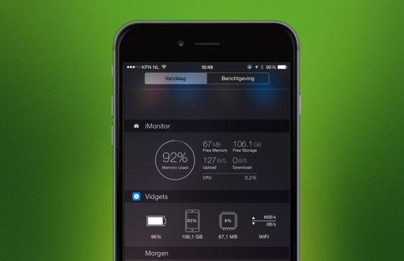 3 widgets om het verbruik van je iPhone te meten