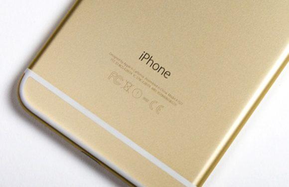 De lelijke labels op iPhones zijn straks verleden tijd