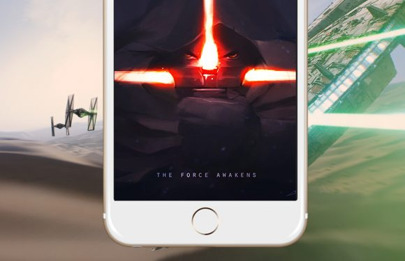 The Force Awakens op je iPhone: 6 gave wallpapers