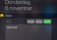 Handige app Neato laat je aantekeningen maken in een widget