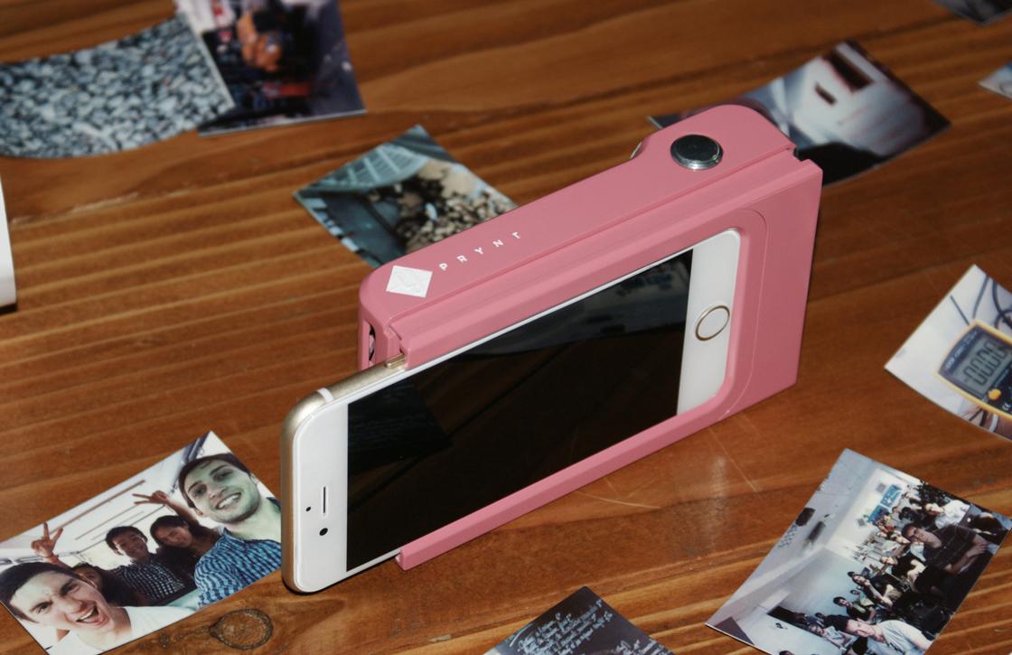 Startup werkt aan Prynt: een iPhone case waarmee je kan printen