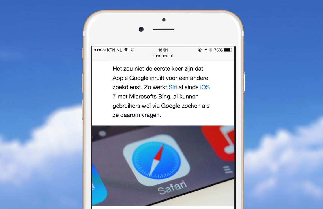 Met deze 3 stappen gebruik je de leesfunctie in Safari