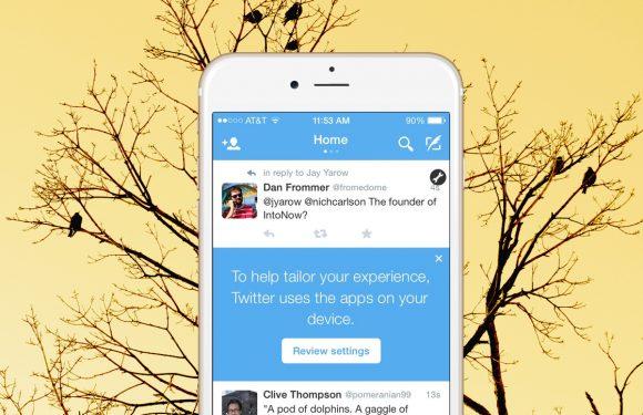 Twitter wil je andere iPhone-apps zien (en zo voorkom je dat)