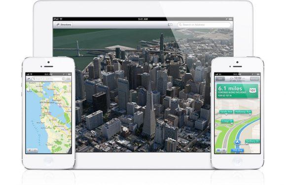 'Apple maakt Kaarten-app beter door integratie met Siri en Passbook'