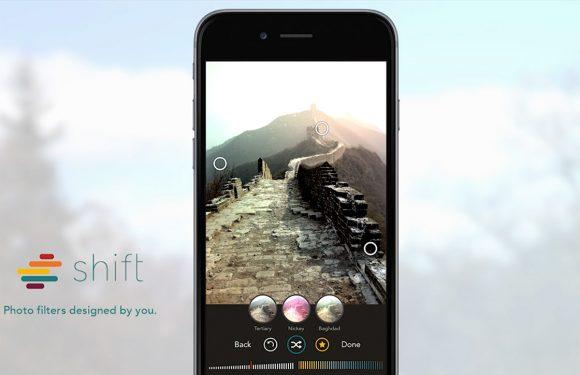3 zaken die je moet weten over foto-app Shift