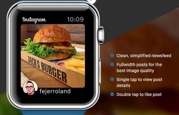 Zo kan Instagram werken op de Apple Watch