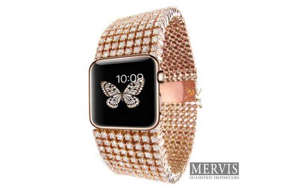 Deze Apple Watch met diamanten kost 30 duizend dollar