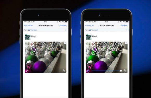 Facebook gaat je foto's vanaf nu automatisch verbeteren