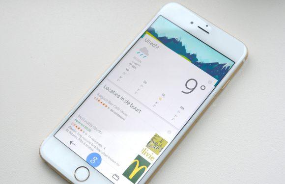 Google voorziet Google-app van Material Design op iOS