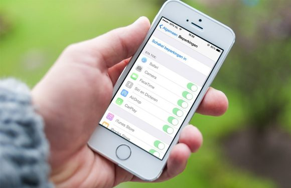 In 4 stappen ouderlijk toezicht instellen op je iOS-toestel