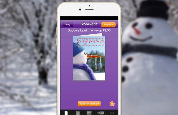 Stuur familie en vrienden een kerstkaart met deze 4 apps