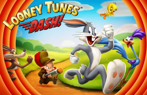 Ren met Bugs Bunny en Daffy Duck in Looney Tunes Dash!