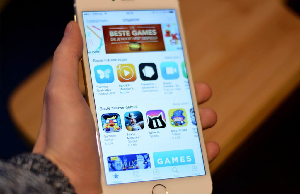 app store recordverkoop