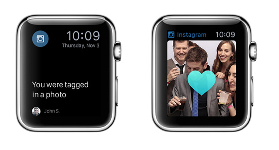 apple watch apps instagram