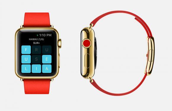 Dit is één van de eerste games voor de Apple Watch