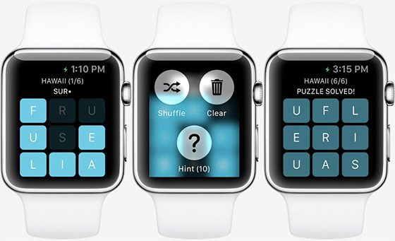 apple watch game