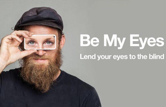 Laat een blinde jouw ogen gebruiken met deze unieke app