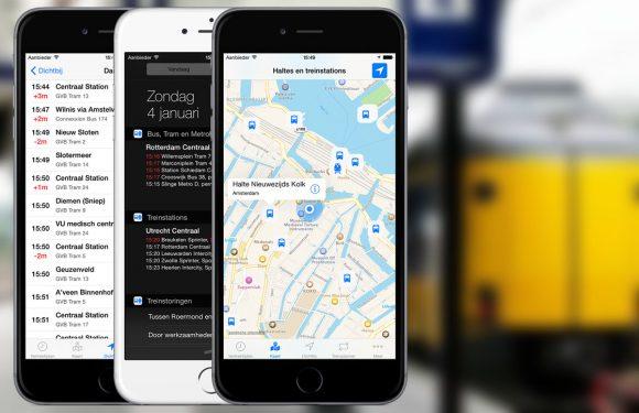 Bus & Trein: nieuwe ov-app toont reisinformatie in widget
