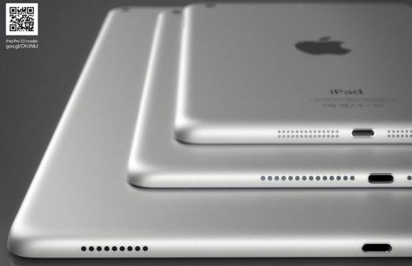 Prachtige renders tonen 'iPad Pro' naast bestaande iPads