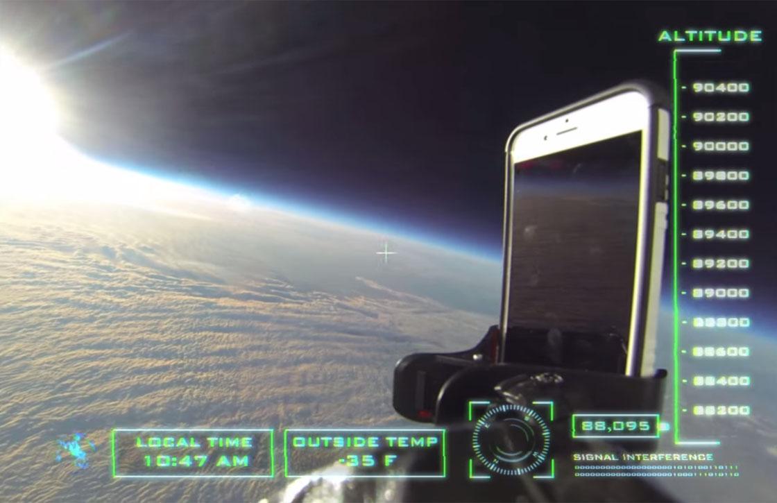 Video: overleeft de iPhone 6 een val van 30 kilometer?