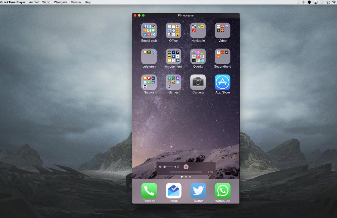 In 8 stappen je iPhone scherm opnemen met een Mac
