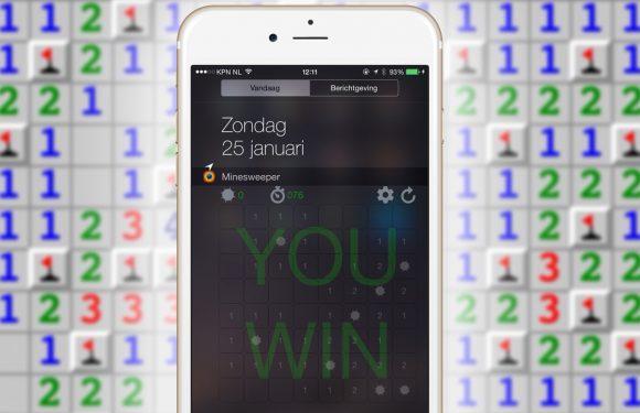 Met deze app speel je Mijnenveger in het Berichtencentrum