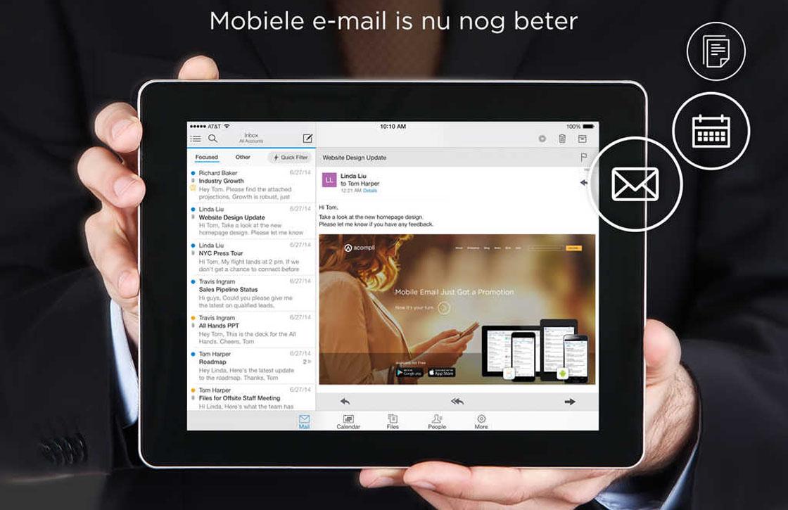 4 zaken die je moet weten over het vernieuwde Outlook voor iOS