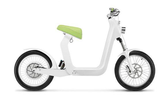 Deze elektrische scooter 'bestuur' je met je iPhone