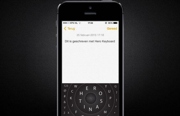 Typ op een geheel nieuwe manier met Hero Keyboard voor iOS