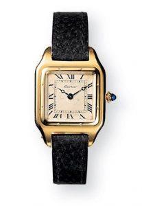 De Cartier Santos uit 1904 was één van de inspiratiebronnen voor de Apple Watch