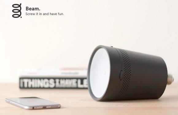 Slimme projector Beam behaalt crowdfundingdoel