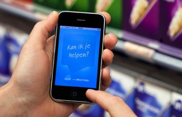 Albert Heijn test boodschappen scannen met iPhone