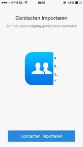 dubbele contacten