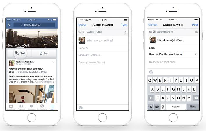 facebook verkoopfunctie