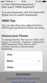 Hero Keyboard